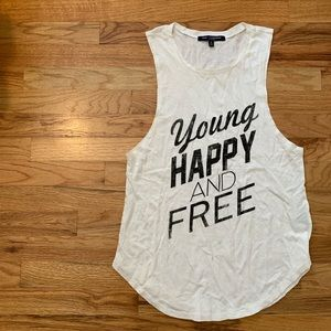 Young, Happy, and Free Tank Top